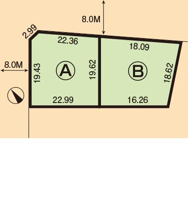 恵庭市栄恵町106番・107番1・107番3